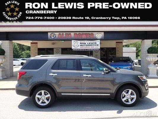 Ron Lewis Ford >> 2017 Ford Explorer Xlt